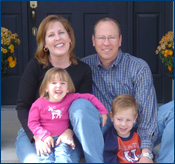 Dr. Jeffrey Bushnell and his family
