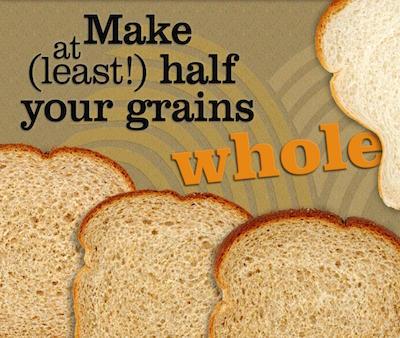 choose whole grains bread